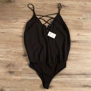 Brand new - Sheer low cut bodysuit